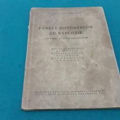PANELE MOTOARELOR CU EXPLOZIE*CĂUTAREA ȘI REPARAȚIUNEA LOR/C. MIHĂILESCU/1942