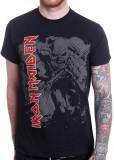 Tricou Iron Maiden: Hi-Contrast Trooper