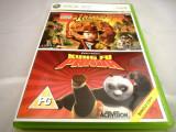 Indiana Jones + Kung Fu Panda, xbox360, original, alte sute de jocuri!, Actiune, 18+, Single player