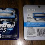 Rezerve Gillette Fusion Proshield CHILL (set a 4 rezerve)