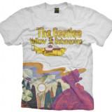 Tricou The Beatles: Yellow Submarine Logo & Scenery