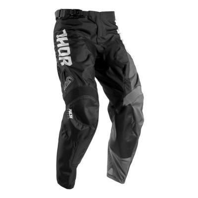 Pantaloni motocross Thor Pulse Aktiv S7 marime 36 alb/negru Cod Produs: MX_NEW 29015773PE foto