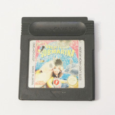 Joc Nintendo Gameboy Classic Color Advance - Barbie Aventura Submarina, Actiune, Toate varstele, Single player