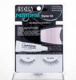 False Eyelashes Ardell Natural Dama 1ML False Eyelashes 1 pair + Adhesive Material On Eyelashes 2,5 g + Applicator
