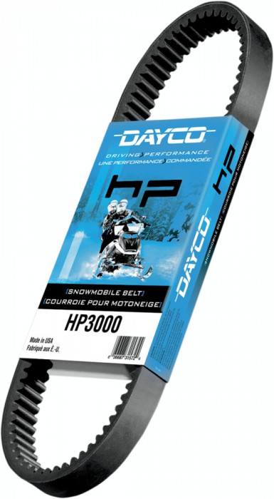 "Curea snowmobil 1104,9 mm (43-1/2"") Dayco HP Cod Produs: MX_NEW 11420321PE"