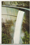Bnk cp Vidraru - Barajul si lacul de acumulare - circulata, Printata