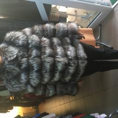 Haina Blana Vulpe Argintie