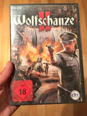 Joc computer PC DVD ROM, in germana, Wolfschanze II, Der Code zum Sieg foto