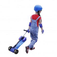 Trotineta copii Scooter Rocket cu lumini,muzica si aburi