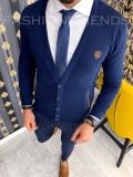 Bluza fashion barbati bleumarin - COLECTIE NOUA 9890 F3