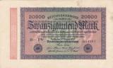GERMANIA 20.000 marci 1923 VF!!!