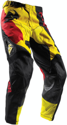 Pantaloni motocross Thor Pulse Taper S7S, galben/rosu, 36 Cod Produs: MX_NEW 29016329PE foto