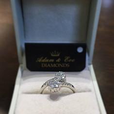 Inel aur 18k cu diamante briliant - 0,50 ct