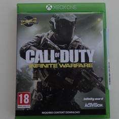 Joc original Microsoft Xbox One COD Call Of Duty Infinite Warfare ca nou, Arcade, Multiplayer, Toate varstele