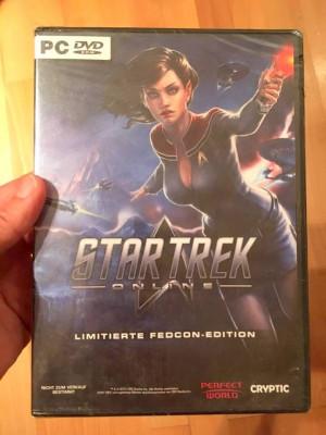 Joc computer PC DVD ROM, in germana, Star Trek Online Limited Edition, sigilat foto
