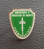 Insigna Brigada 2 Vanatori de munte - militara