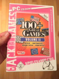 Joc computer PC CD-ROM, in germana, 100+ great Games, Volume II