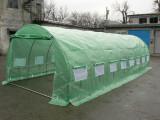 Solar de gradina 3x8 m 24 mp, teava galvanizata NOU, TVA inclus