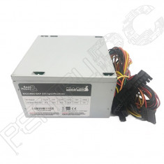 GARANTIE! Sursa Rasurbo 550W BAP-550 2 X SATA 4 Molex PFC, 550 Watt