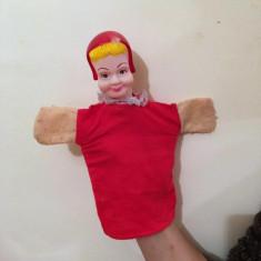 Marioneta teatru de papusi, papusa manuala, Scufita Rosie