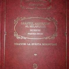 PARINTI SI SCRIITORI BISERICESTI 52 - SF. AMBROZIE AL MILANULUI I PSB {2007}
