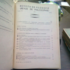Revista de Filozofie 1972