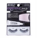 False Eyelashes Ardell Glamour Dama 1ML 1 pair of Lashes + Adhesive LashGrip 2,5 g + Applicator