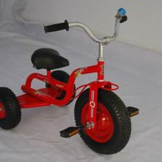 Tricicleta copii turbo ,roti cauciuc culoare rosu