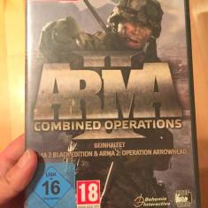 Joc computer PC DVD ROM, in germana, ARMA Combined Operations
