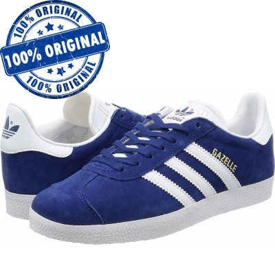 Pantofi sport Adidas Originals Gazelle pentru barbati - adidasi originali piele foto