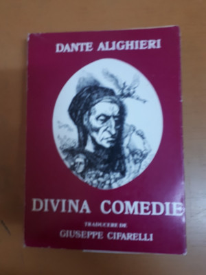 Dante Aligheri, Divina Comedie, traducere de Giuseppe Cifarelli foto