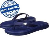 Papuci Nike Solay pentru barbati - originali - slapi piscina - slapi plaja, 40, 41, 42.5, 44, Albastru