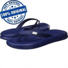 Papuci Nike Solay pentru barbati - originali - slapi piscina - slapi plaja