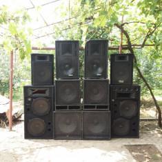 -PRET NEGOCIABIL - Linie Completa Audio Master pentru Cluburi si Discoteci
