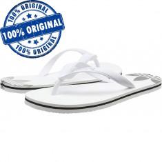 Papuci Adidas Originals Adisun pentru barbati - originali - slapi piscina plaja, 43, 44.5, 46, Alb