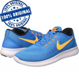Pantofi sport Nike Free Rn pentru barbati - adidasi originali, 40.5, 41, 42.5, Albastru, Textil