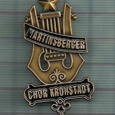 Insigna germana dupa model  vechi-KRONSTADT-Brasov-copie superba