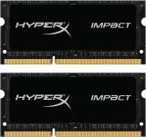 Memorie laptop Kingston HX321LS11IB2K2/16 HyperX Impact, 2x8GB DDR3 2133MHz CL11 SODIMM