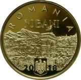 50 Bani 2018 PROOF in capsula - 140 de ani de la unirea Dobrogei cu Romania, Alama