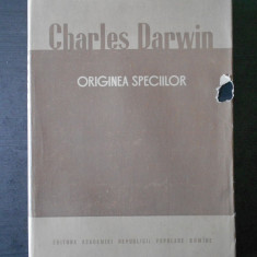 CHARLES DARWIN - ORIGINEA SPECIILOR
