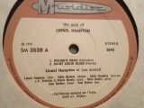 LIONEL HAMPTON – THE SOUL OF (1973/MUSIDISC/ITALY) - VINIL/JAZZ
