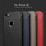 Husa / Bumper Antisoc model PIELE pentru iPhone 5 / 5S