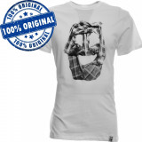 Tricou Vans Off The Wall pentru barbati - tricou original - bumbac, M, S, Maneca scurta, Alb