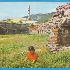 CARTE POSTALA DIN FOTA INSULA ADA KALEH - REPUBLICA SOCIALISTA ROMANIA