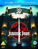 Jurassic Park Blu ray 2D + 3D UK Import [BST Buy Sell Trade], BLU RAY 3D, Engleza, universal pictures