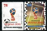 MACEDONIA 2018 FOTBAL CUPA MONDIALA