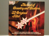 THE BEST COUNTRY & WESTERN – 32 HITS – 2LP SET (1972/BRC/HOLLAND) - Vinil/NM, ariola