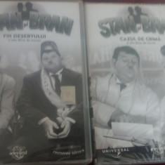 DVD FILM  STAN SI BRAN 7 DVD NR 1 3-8 LIPSA NR 2, Romana