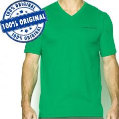 Tricou Under Armour Charged V pentru barbati - tricou original, S, Verde, Poliester