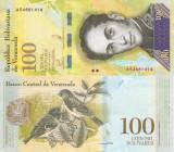 "VENEZUELA 100.000 bolivares 13 dec. 2017 - banda ""BCV 100""+banda ingusta UNC!!!"